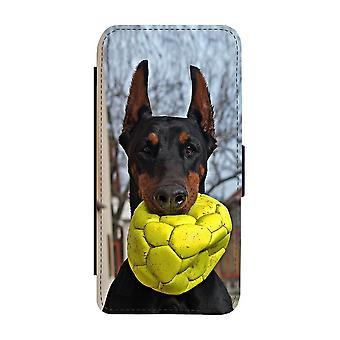 Hund Doberman Pinscher iPhone 12 Mini Plånboksfodral