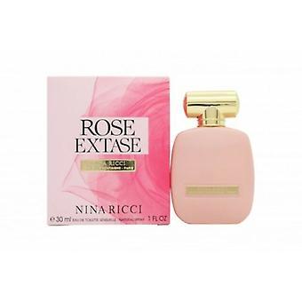 Nina Ricci Rose Extase Eau de Toilette Spray for Women 30 ml