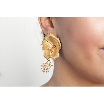 Wild Hibiscus Earrings
