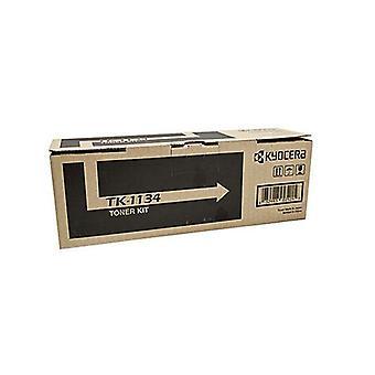Kyocera Tk 1134 Toner Kit Black Yield 3000 Pages