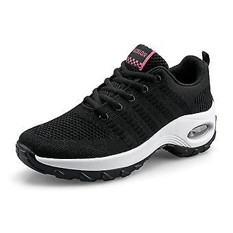 Chaussures de course femme coussin d'air8836 noir