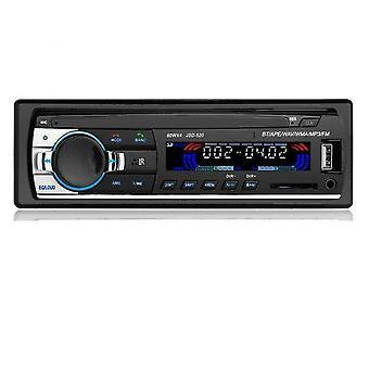 Autoradio 1 Din بلوتوث SD MP3 لاعب Jsd-520 سيارة ستيريو Aux المدخلات