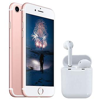 iPhone 7 Rose Gold 32GB + Wireless Headphones