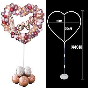 Häät koristelu Baloon Stick, Jalustan haltija, Sarake, Syntymäpäiväjuhlat