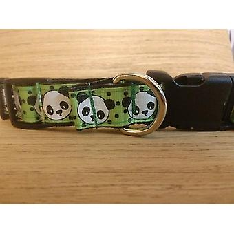 Kragen / groß / Mittel / grün Panda