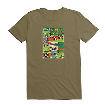 Teenage Mutant Ninja Turtles Karaktär Comp Grön T-Shirt