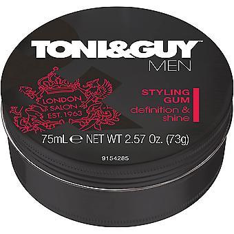 2 x Toni&Guy Men Styling Gum - Definition & Shine 75ml