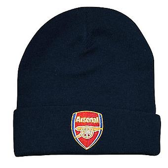 Arsenal FC Jalkapallo Supporter Fan Core Kalvosinnapo Hattu Navy Blue