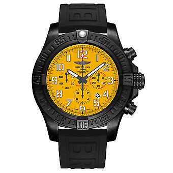 Orologio breitling da uomo con quadrante giallo uragano - XB0170E4/I533