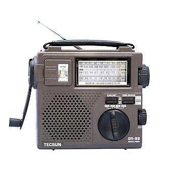 TECSUN GR-88 Digital Radio Receiver Emergency Light Radio Dynamo Radio With Built-In Speaker