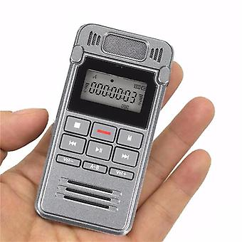 560 ore Record Time LCD Digital Voice Reîncărcabil Audio Smart Recorder Dictaphone Cu MP3 Player