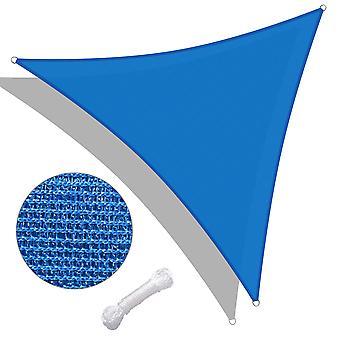 Yescom 16 Ft 97% UV Block Triangle Sun Shade Sail Canopy Outdoor Patio Pool Garden Yard