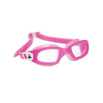 Aqua Sphere Kameleon Kids -3-6 years- Swim Goggle-Clear Lens-Pink/White
