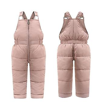 Winter Overalls, Down-cotton, Thick Warm Pant, Jumpsuit For &