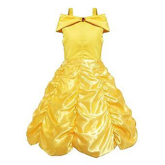 Sukienka księżniczka, Elsa Anna Sukienka Kostiumy Kid Party Sukienki