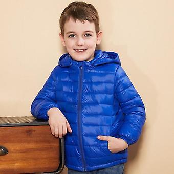 I down jacket con cappuccio invernale per, i cappotti caldi per bambini color caramelle