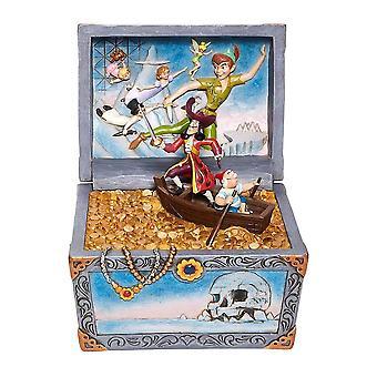 Disney Traditions Captain Hook 'Treasure-strewn Tableau' Figurine