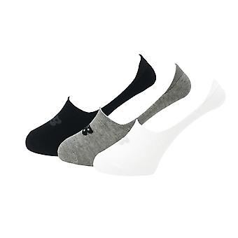 New Balance Performance Cotton Cushioned 3 Pack Ultra No Show Socks - Multi