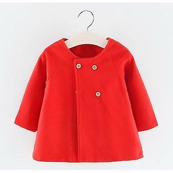 طفل الربيع الشتاء الصوف يمزج سترة معطف الملابس الخارجية