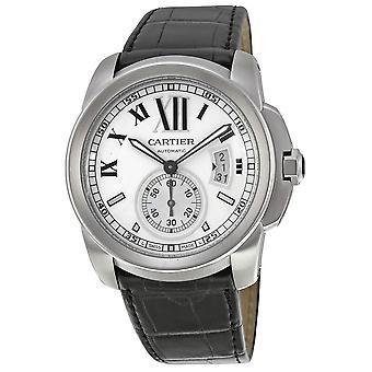 Cartier Calibre De Cartier Silver Dial Herrklocka W7100037