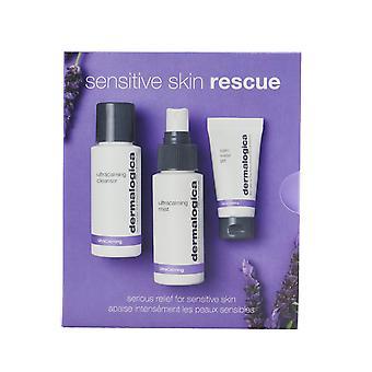 Sensitive skin rescue kit: ultra calming cleanser 50ml/1.7oz + ultra calming mist 50ml/1.7oz + calm water gel 15ml/0.5oz 261356 3pcs