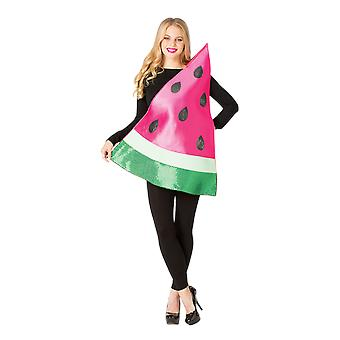 Adult Watermelon Fruit Food Funny Fancy Dress Costume