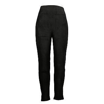 Cuddl Duds Leggings Fleecewear Stretch Negro A342094