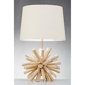 Moderna hem nautiska drivved boll bordslampa
