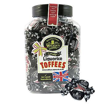 Walkers Nonsuch Lovely Liquorice Toffees Jar 1.25kg
