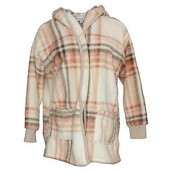 Koolaburra od UGG Women's Sweter Przytulny Kudłaty Plush Kardigan Różowy A386142