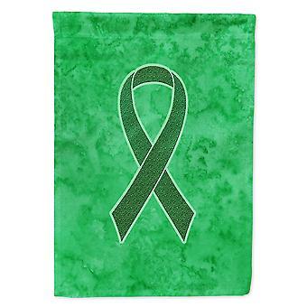 Caroline's Treasures An1220Gf Kelly Nastro verde per la bandiera di sensibilizzazione sul cancro ai reni, piccolo, multicolore