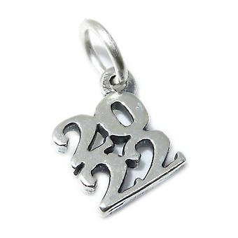 2022 Year Sterling Silver Charm .925 X 1 Years Graduation Birthday Charms - 15391