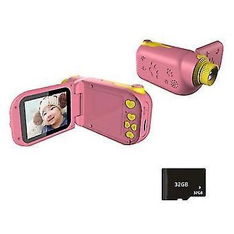 Розовый мультфильм цифровой фотоаппараты, детский портативный спортивный dv видеокамера az22400