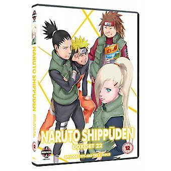 Naruto Shippuden Box Set 22 Episodes 271-283 DVD