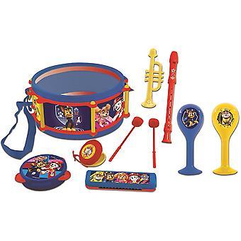 باو باترول 7pcs مجموعة الآلات الموسيقية