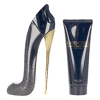 Women's Perfume Set Good Girl Supreme Carolina Herrera (2 pcs)