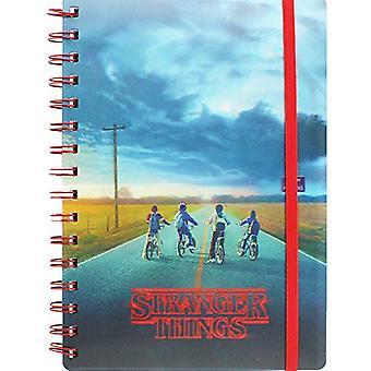 Stranger Things 3D Notebook
