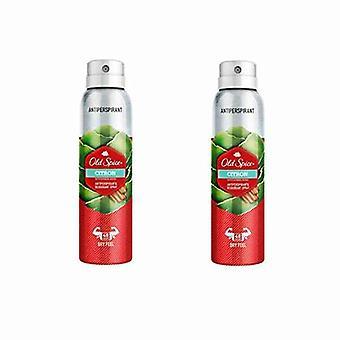 Spray Deodorant Citron Old Spice (2 x 150 ml)
