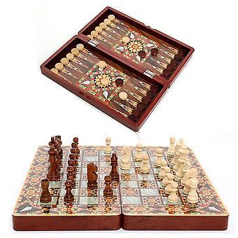 Traveling Intelligence Game Chess Set