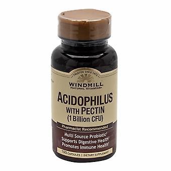 Windmill Health Acidophilus with Pectin, 100 Caps