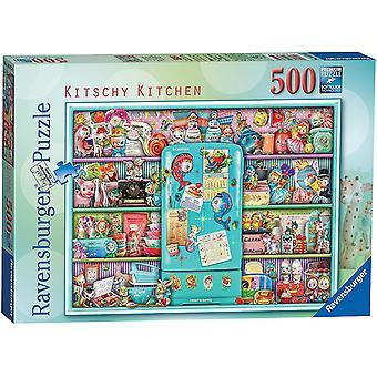 Ravensburger Kitschy Kjøkken 500 Stykke Puslespill