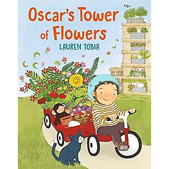 Oscars Tower of Flowers by Lauren Tobia