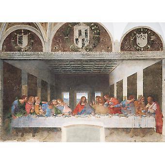 Clementoni Museum Da Vinci La Cène Puzzle de haute qualité (1000 pièces)