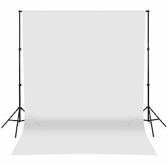 Fotoğraf Arka Plan Destek Standı Chromakey Zemin Kiti Ayarlanabilir 6.6ft