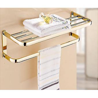 Messinki kylpyhuone tarvikkeet baari, saippua kori, pyyheteline, lasihylly kylpyhuone laitteisto
