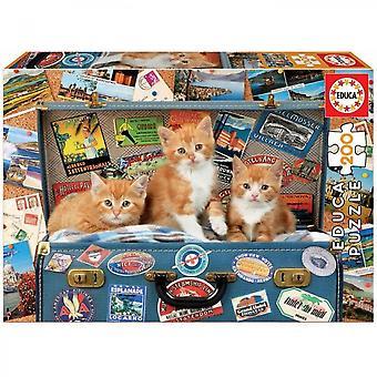 Educa 200 Kleinkatzen Reisen