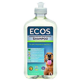 Ecos pour animaux de compagnie Shampooing shampooing hypoallergénique Menthe poivrée