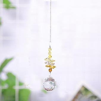 1kpl roikkuva kristallipallo suncatcher