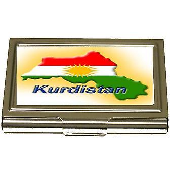 Kurdistans karta korthållare