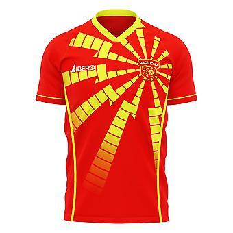 شمال مقدونيا 2020-2021 قميص مفهوم الصفحة الرئيسية (Libero)